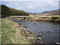 NO1969 : Bridge near Auchavan by Lis Burke