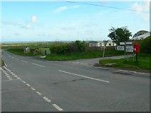 SN0923 : Llanycefn Crossroads by Jim Goldsmith