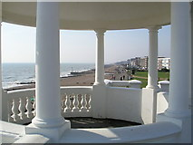 TQ7407 : Bexhill-on-Sea, promenade from pavilion. by Tim Knight