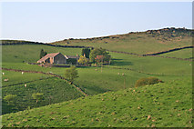 SK0167 : Axe Edge Green Farm, near Flash by Kate Jewell