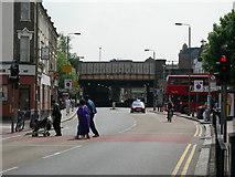 TQ2775 : Britain's Busiest Railway Bridge? by Danny P Robinson