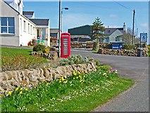 NX2059 : Entrance to Whitecairn Farm Caravan Park by Oliver Dixon
