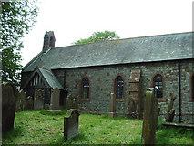 NY3459 : St Marys Church, Beaumont by Alexander P Kapp