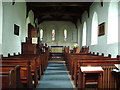 NY3459 : Interior of St Marys Church, Beaumont by Alexander P Kapp