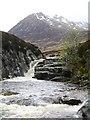NH1925 : Waterfall, Abhainn Gleann nam Fiadh by Chris Eilbeck