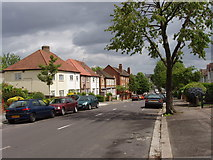 TQ2081 : East end of Lynton Road, North Acton by David Hawgood