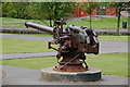 J5081 : U-boat gun, Ward Park, Bangor by Albert Bridge