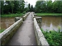 SJ9922 : Essex Bridge Great Haywood by Frank Smith