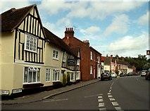 TL7835 : St. James Street, Castle Hedingham, Essex by Robert Edwards
