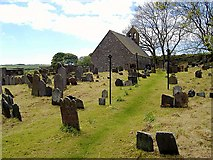 SC3278 : St Runius, Marown, Isle of Man by kevin rothwell