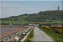 J4972 : Sea defences, Newtownards (2) by Albert Bridge