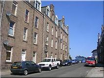 NJ9304 : Tenements on Hardgate, Aberdeen by Richard Slessor