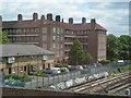 TQ2977 : Flats off Battersea Park Road by Danny P Robinson