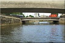 ST7564 : Churchill Road Bridge, River Avon, Bath by Pierre Terre