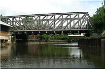 ST7464 : Midland Bridge Road Bridge, River Avon, Bath by Pierre Terre