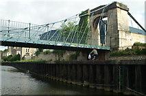 ST7465 : Victoria Suspension Bridge, River Avon, Bath by Pierre Terre