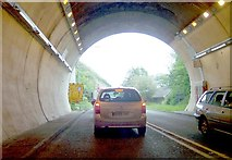 TQ4210 : Exit of Cuilfail Tunnel by Bob Embleton