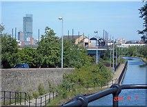 SJ8196 : Bridgewater Canal, Old Trafford by Mike Harris