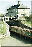 ST9060 : Lock Keeper's Cottage on the Kennet & Avon Canal at Semington by Alan Cooper