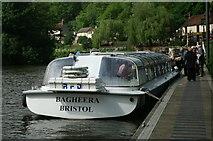 ST6470 : Tourist boat, Hanham mills by Pierre Terre