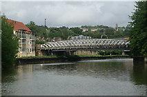ST7365 : River Avon below Windsor Bridge by Pierre Terre