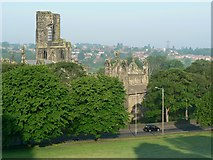 SE2636 : Kirkstall Abbey, 6:50am by Rich Tea