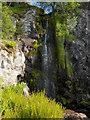 NS7092 : Waterfall, Gargunnock Burn by Andrew Smith