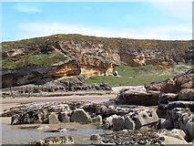 NJ1570 : Clashach Cove by Gary Rogers