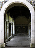 SU4828 : Winchester College: War Cloisters by Pam Brophy