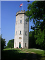 NJ0459 : Nelson Tower, Grant Park, Forres by Richard Slessor