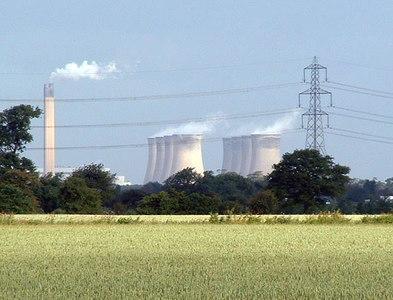 SE5724 : Eggborough Power Station by Gordon Kneale Brooke