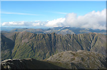 NN1454 : Panorama from Stob Coire nan Lochan, north view by Espresso Addict