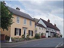 TM1763 : High Street, Debenham by Eileen Henderson
