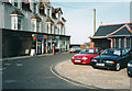 SZ2393 : Shops and garage, Marine Drive, Barton-on-Sea by Gary Davies