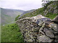 NY4806 : Wall under Great Howe by Michael Graham