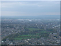 NT2572 : The Meadows and Bruntsfield Links from Arthur's Seat by Brian MacLennan