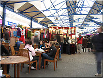 TQ3877 : Covered market, Greenwich by Stephen Craven