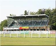 SU0928 : Sarum Stand, Salisbury Racecourse by Peter Facey