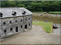 SX4268 : Museum at Cotehele Quay by Penny Mayes