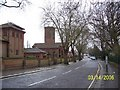 TQ2588 : Golders Green Crematorium, Hoop Lane by Todd Keator