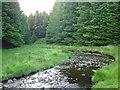 NX4095 : Water of Girvan by James Hearton
