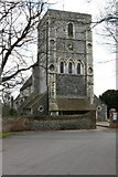 TR3154 : St Mary the Blessed Virgin, Eastry by Mike Snoswell