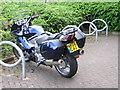NZ3652 : Motorbike park by rob bishop