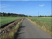 SK2122 : Lawns Farm, Branston, Burton upon Trent, Staffordshire. by Alan Slater