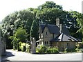 SJ8459 : The Lodge at Great Moreton Hall by Steve Lewin