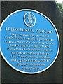 Photo of Leeds Burial Ground blue plaque