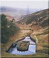 SE1502 : Old gauging basin, Lower Windleden Reservoir by Stephen Craven