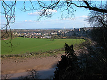 ST5393 : View over Chepstow from the Alcove by Roy Parkhouse
