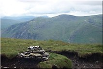 SH6963 : Pen yr Helgi Du summit cairn by Terry Hughes