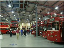TQ1979 : Acton London Transport Museum Depot by Hywel Williams